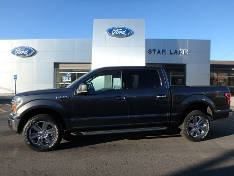 Magnetic 2018 Ford F150 XLT SuperCrew 4x4