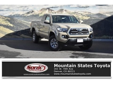 Quicksand 2018 Toyota Tacoma SR5 Access Cab 4x4