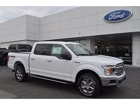 Oxford White 2018 Ford F150 XLT SuperCrew 4x4