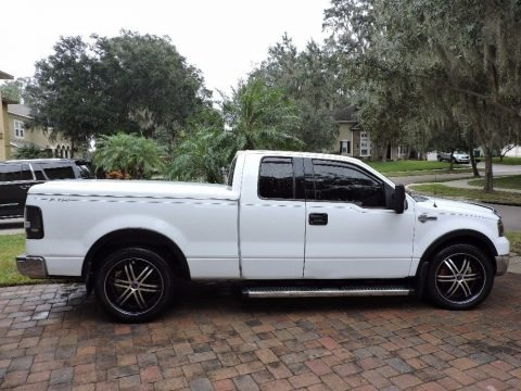 Oxford White 2004 Ford F150 XLT SuperCab