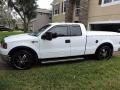 Ford F150 XLT SuperCab Oxford White photo #3