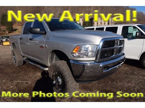 Bright Silver Metallic 2012 Dodge Ram 2500 HD ST Crew Cab 4x4