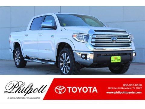 Super White 2018 Toyota Tundra Limited CrewMax 4x4