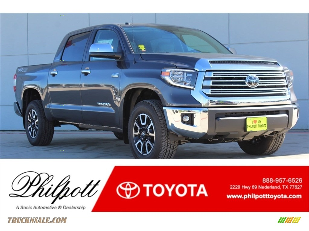 2018 Tundra Limited CrewMax 4x4 - Magnetic Gray Metallic / Graphite photo #1