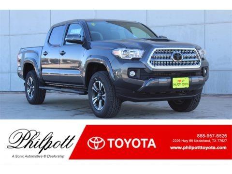 Magnetic Gray Metallic 2017 Toyota Tacoma TRD Sport Double Cab