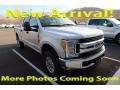 Ford F250 Super Duty XLT Crew Cab 4x4 Ingot Silver photo #1