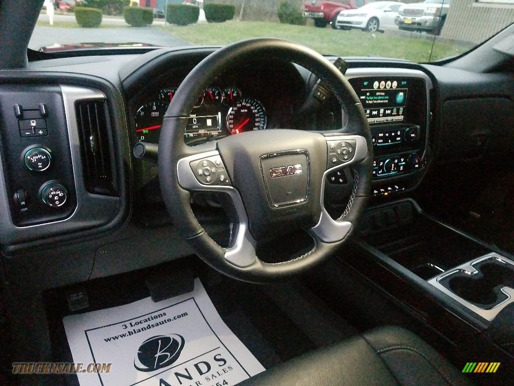 2017 Sierra 1500 SLT Crew Cab 4WD - Onyx Black / Jet Black photo #20