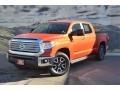 Toyota Tundra Limited CrewMax 4x4 Inferno Orange photo #5