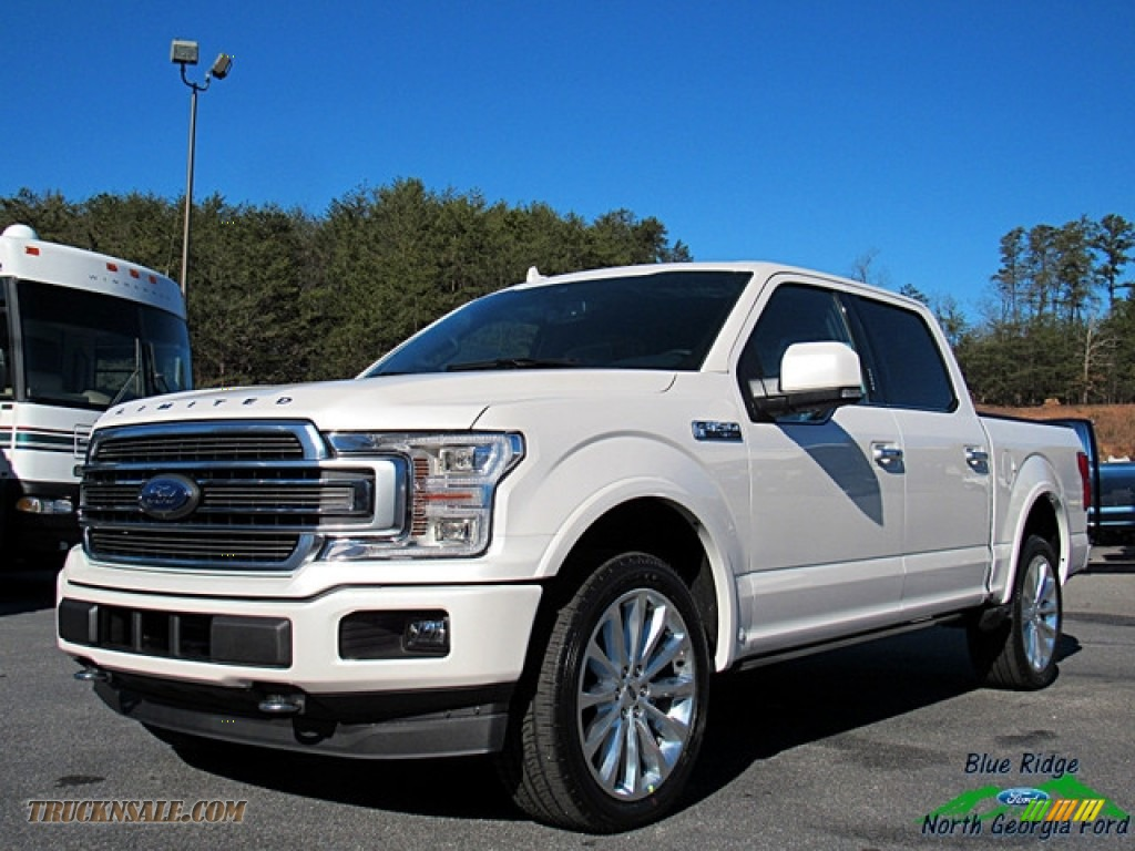 2018 F150 Limited SuperCrew 4x4 - White Platinum / Limited Navy Pier photo #1