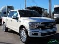 Ford F150 Limited SuperCrew 4x4 White Platinum photo #7