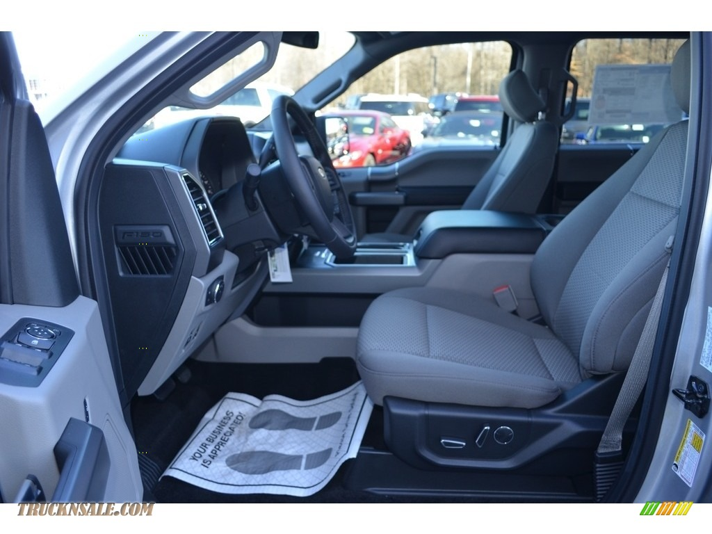 2018 F150 XLT SuperCrew 4x4 - Ingot Silver / Earth Gray photo #8