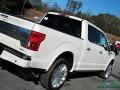 Ford F150 Limited SuperCrew 4x4 White Platinum photo #34