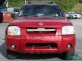 Nissan Frontier XE V6 Crew Cab 4x4 Red Brawn Metallic photo #4