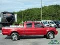Nissan Frontier XE V6 Crew Cab 4x4 Red Brawn Metallic photo #7