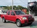 Nissan Frontier XE V6 Crew Cab 4x4 Red Brawn Metallic photo #8