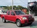 Nissan Frontier XE V6 Crew Cab 4x4 Red Brawn Metallic photo #8