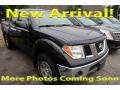 Nissan Frontier SE Crew Cab 4x4 Super Black photo #1