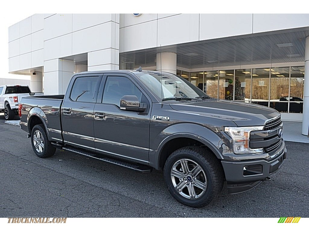 2018 F150 Lariat SuperCrew 4x4 - Lead Foot / Black photo #1