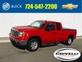 GMC Sierra 1500 SLE Extended Cab 4x4 Fire Red photo #1