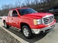 GMC Sierra 1500 SLE Extended Cab 4x4 Fire Red photo #8