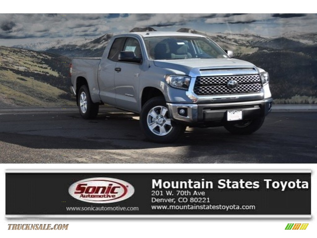2018 Tundra SR5 Double Cab 4x4 - Cement / Graphite photo #1