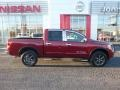 Nissan Titan SV Crew Cab 4x4 Cayenne Red photo #3