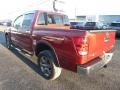 Nissan Titan SV Crew Cab 4x4 Cayenne Red photo #6