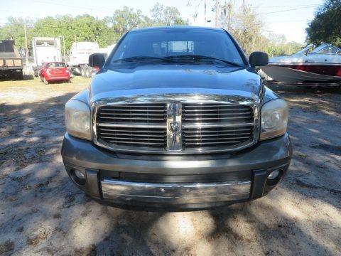 Black 2006 Dodge Ram 1500 Laramie Quad Cab