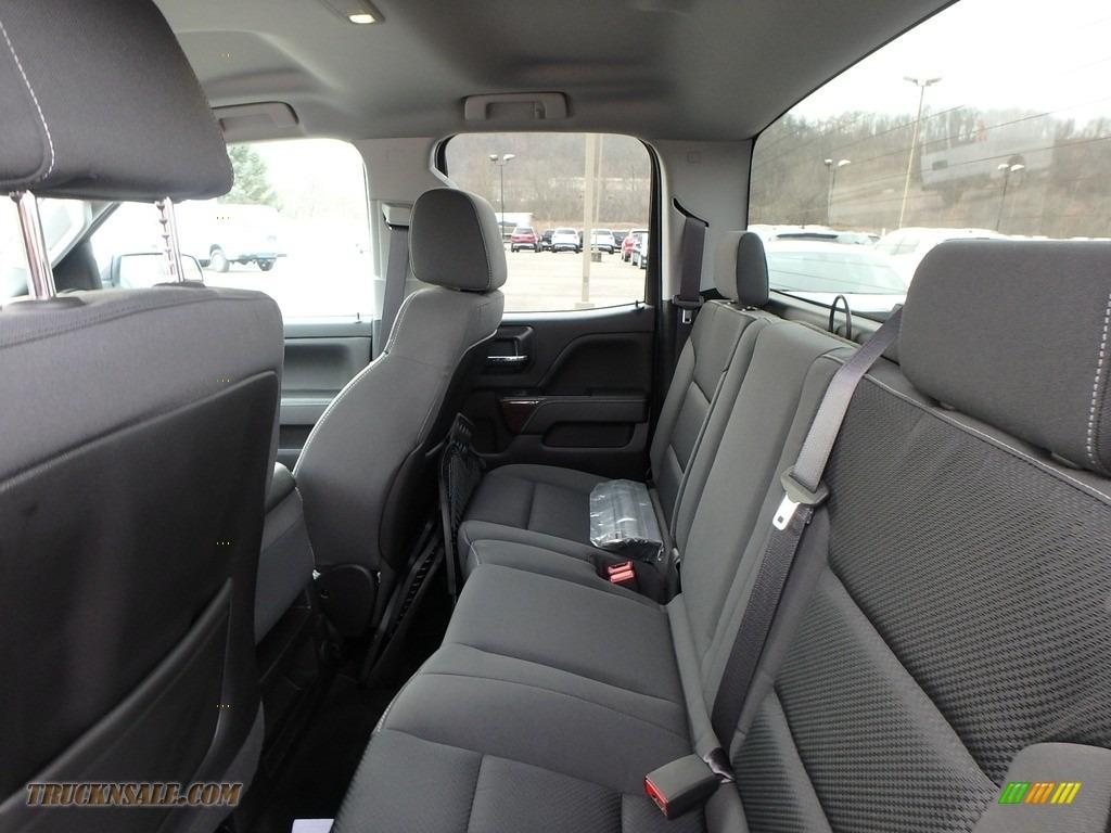 2015 Sierra 1500 SLE Double Cab 4x4 - Iridium Metallic / Jet Black photo #17