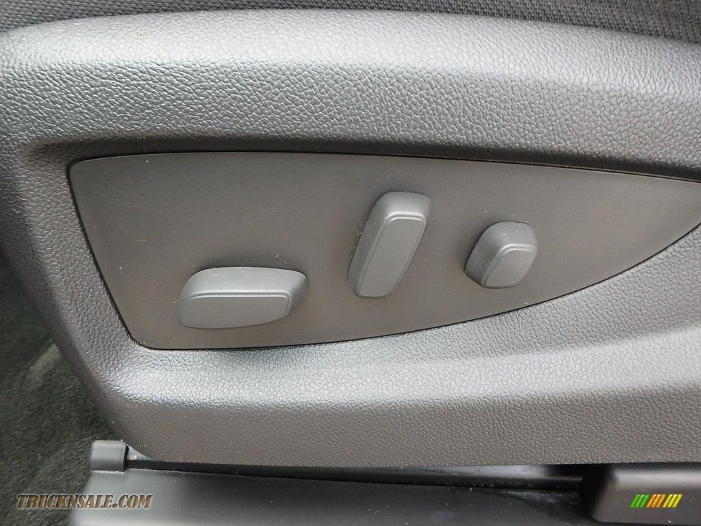 2015 Sierra 1500 SLE Double Cab 4x4 - Iridium Metallic / Jet Black photo #22