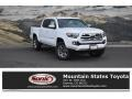 Toyota Tacoma Limited Double Cab 4x4 Super White photo #1