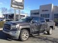 GMC Sierra 1500 SLT Crew Cab 4WD Light Steel Gray Metallic photo #2