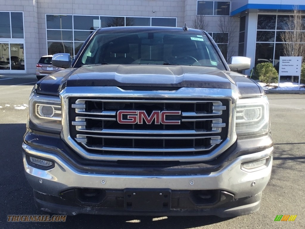 2016 Sierra 1500 SLT Crew Cab 4WD - Light Steel Gray Metallic / Jet Black photo #3