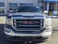 GMC Sierra 1500 SLT Crew Cab 4WD Light Steel Gray Metallic photo #3