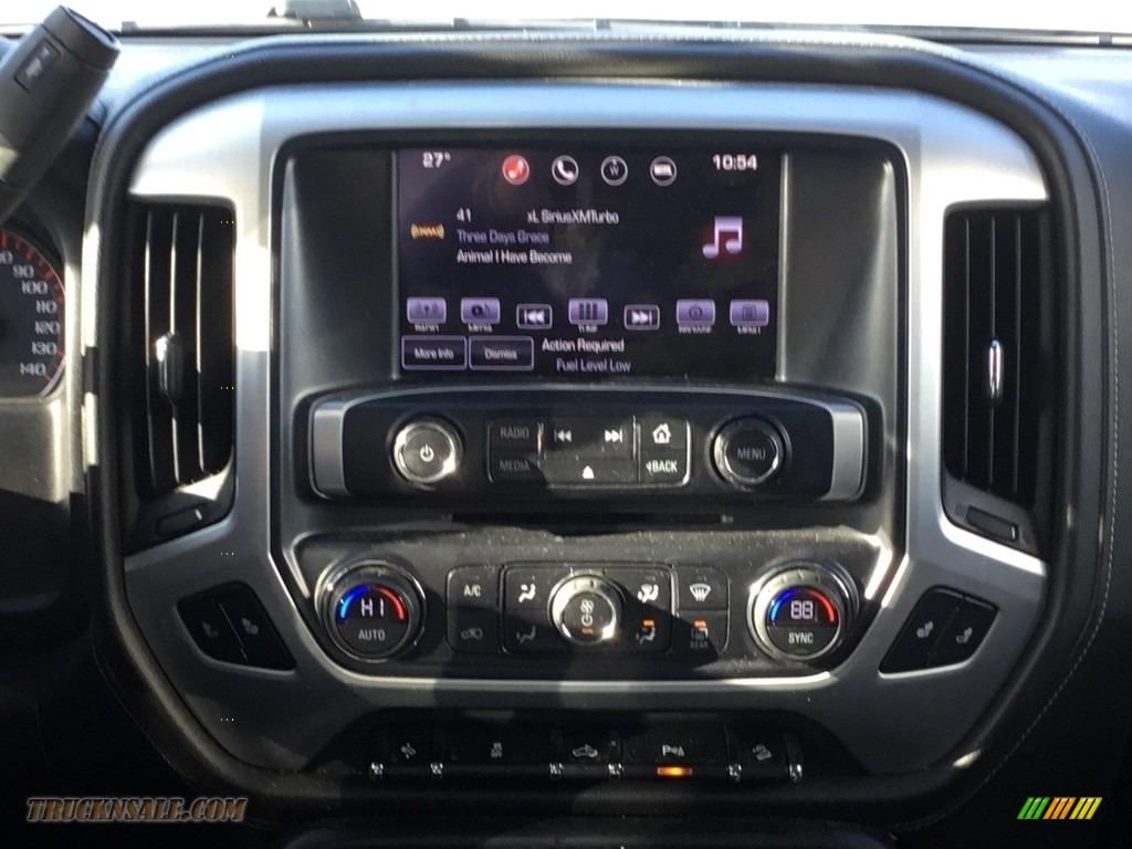 2016 Sierra 1500 SLT Crew Cab 4WD - Light Steel Gray Metallic / Jet Black photo #10