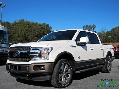 White Platinum 2018 Ford F150 King Ranch SuperCrew 4x4