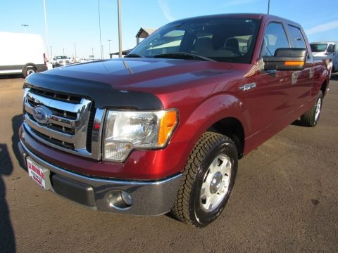 Red Candy Metallic 2010 Ford F150 XLT SuperCrew