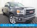 GMC Sierra 1500 SLE Double Cab 4x4 Onyx Black photo #1