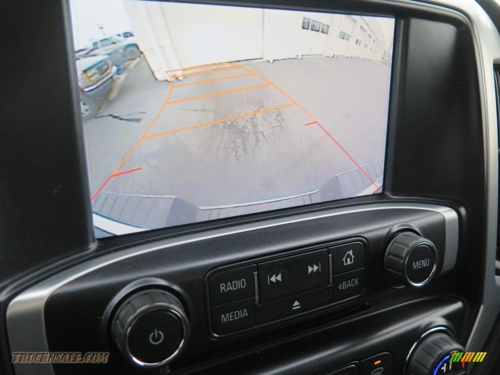 2015 Sierra 1500 SLE Double Cab 4x4 - Onyx Black / Jet Black photo #2