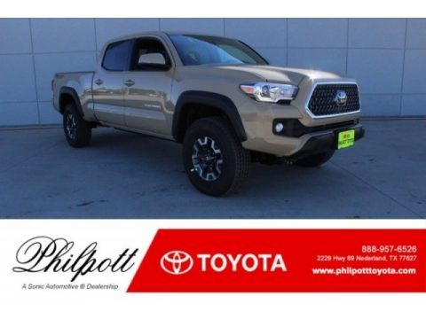 Quicksand 2018 Toyota Tacoma TRD Off Road Double Cab 4x4