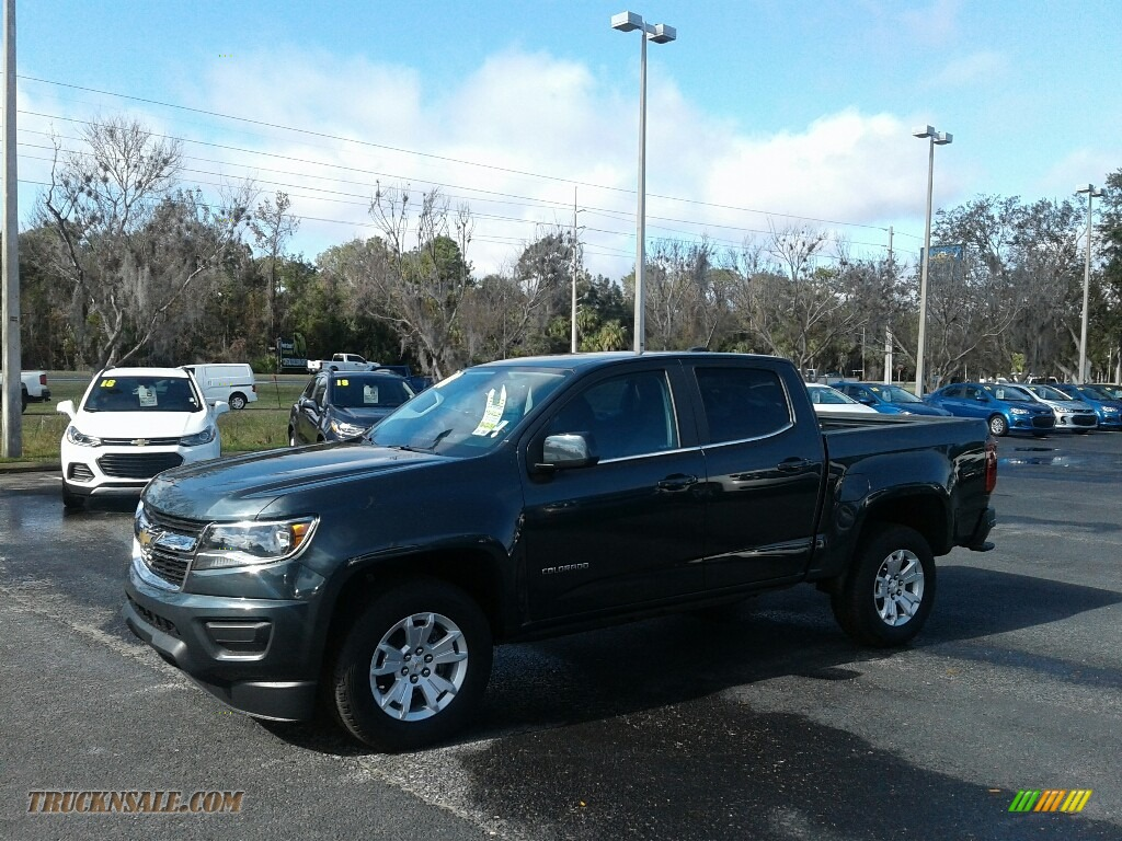 2018 Colorado LT Crew Cab - Graphite Metallic / Jet Black photo #1