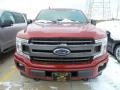 Ford F150 XLT SuperCab 4x4 Ruby Red photo #2