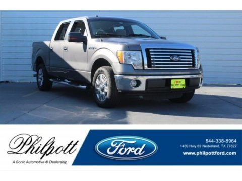 Sterling Grey Metallic 2010 Ford F150 XLT SuperCrew