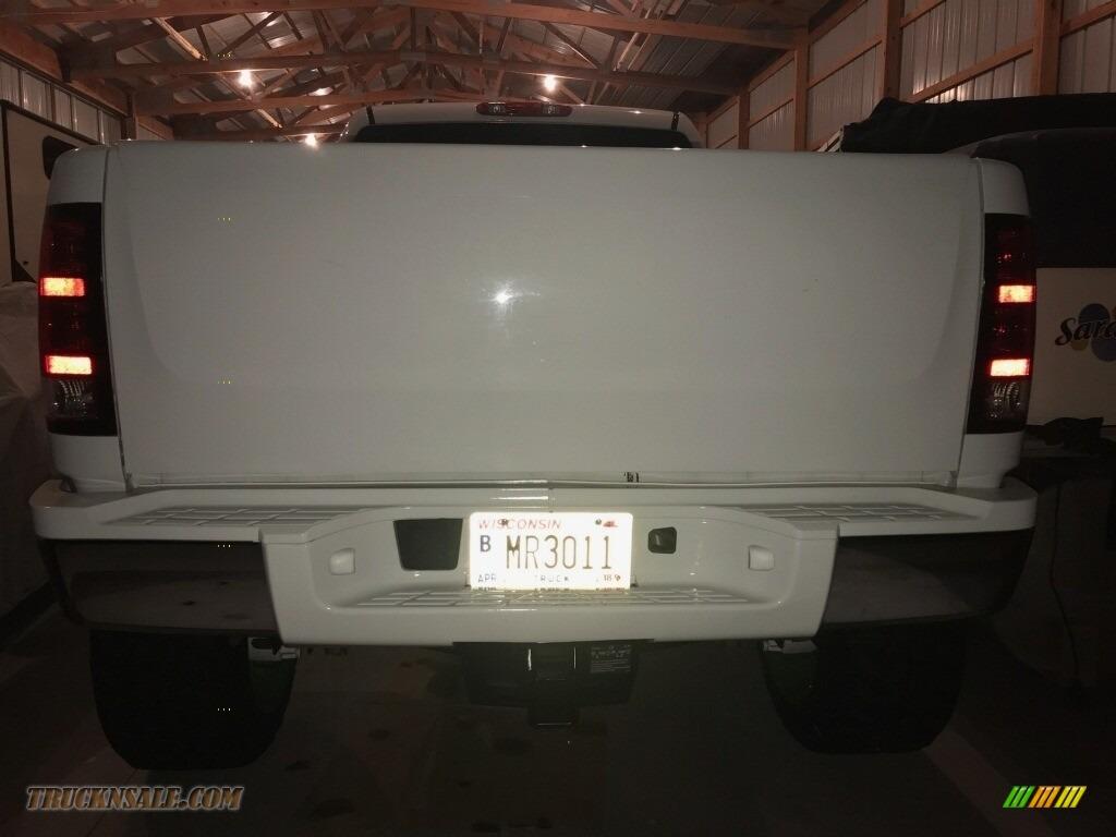 2013 Sierra 2500HD Denali Crew Cab 4x4 - Summit White / Cocoa/Light Cashmere photo #8