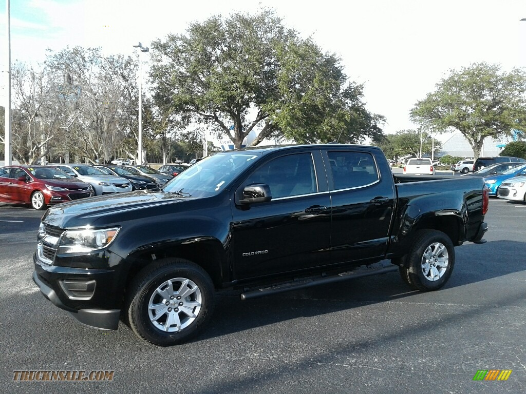 2018 Colorado LT Crew Cab - Black / Jet Black photo #1