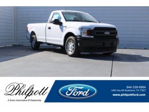 Oxford White 2018 Ford F150 XL SuperCrew 4x4