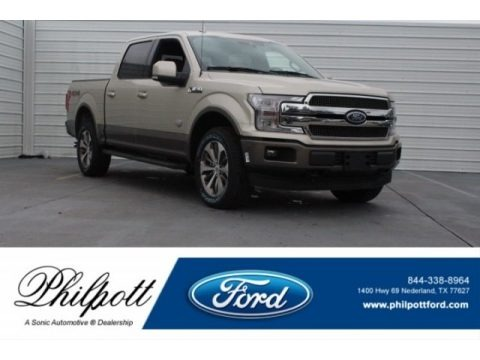 White Gold 2018 Ford F150 King Ranch SuperCrew 4x4