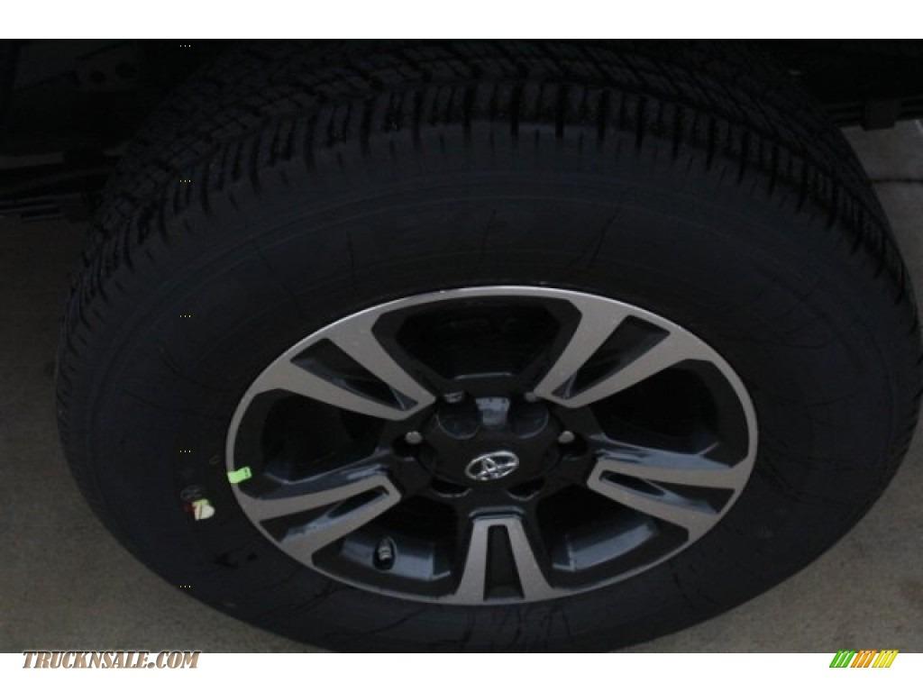 2018 Tacoma TRD Sport Double Cab - Super White / Black/Red photo #5