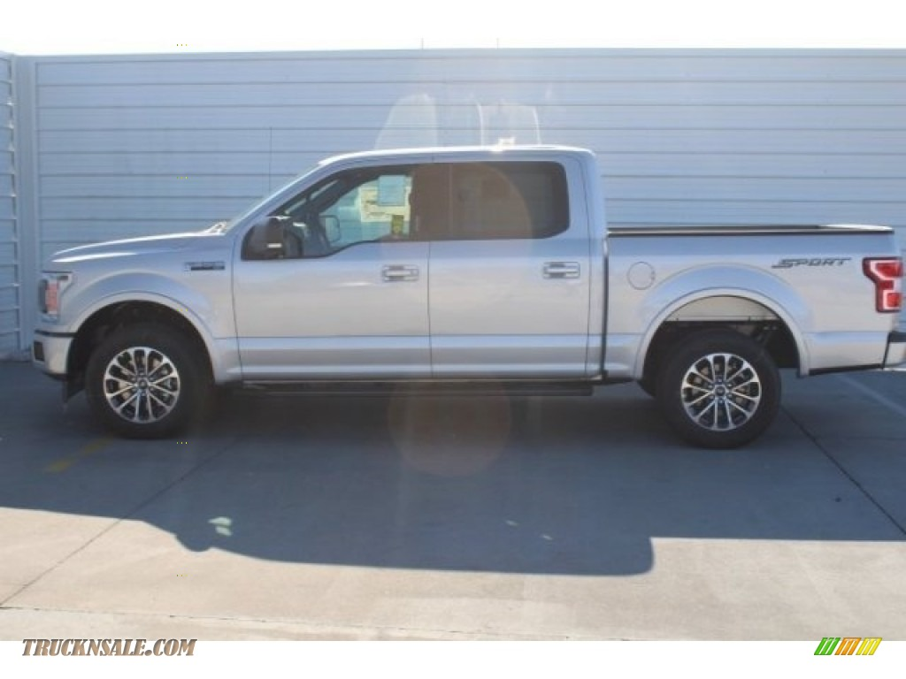 2018 F150 XLT SuperCrew - Ingot Silver / Black photo #5