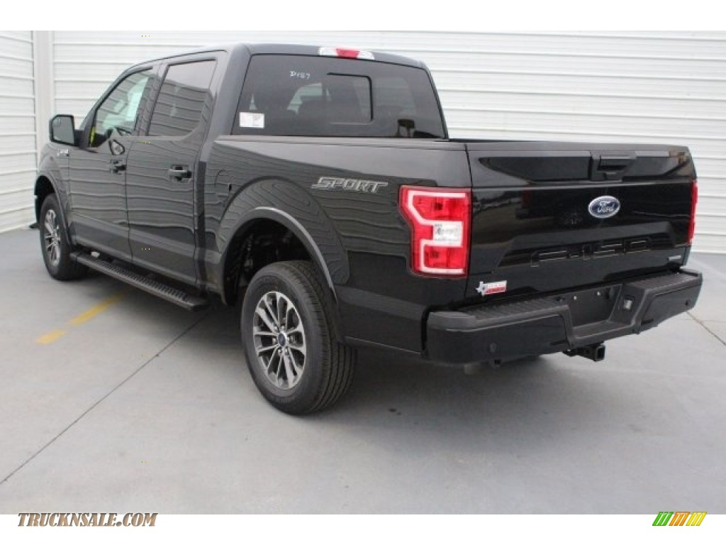 2018 F150 XLT SuperCrew 4x4 - Shadow Black / Black photo #7